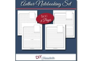 Author Notebooking Pages