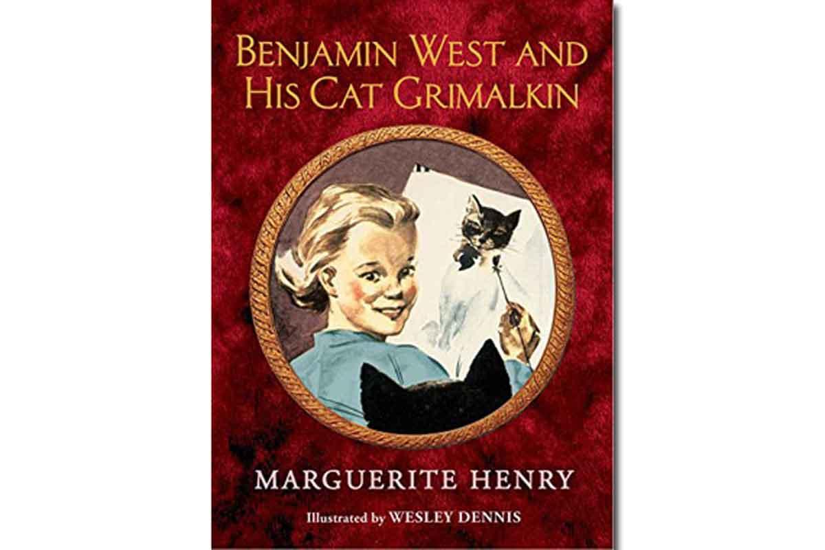 Benjamin West and His Cat Grimalkin {$2.99}