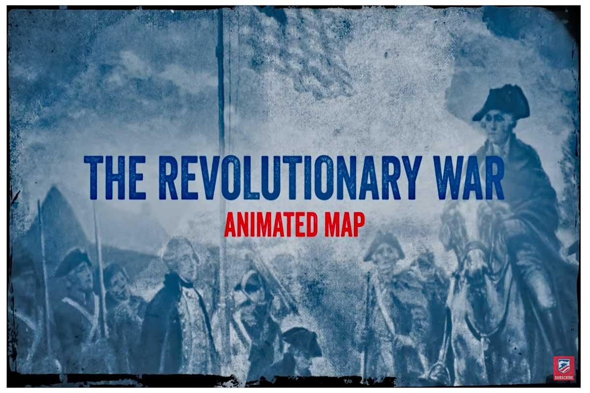 Revolutionary War Animated Map