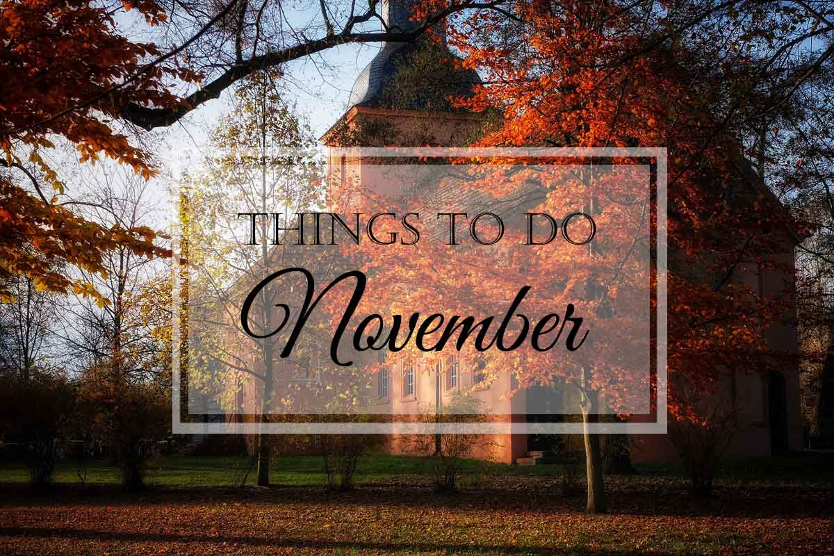 Things to Do: November