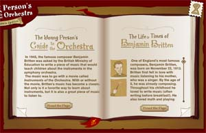 Young Person's Guide to the Orchestra {Featured Site}