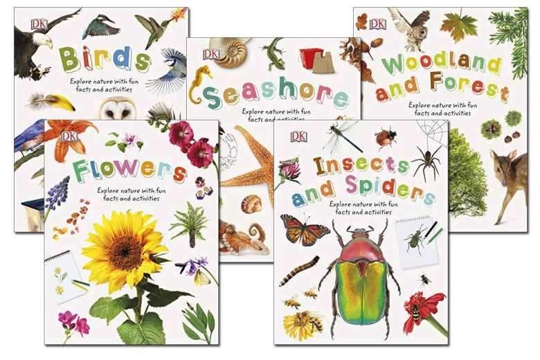 5 Colorful DK Books ~1.99!