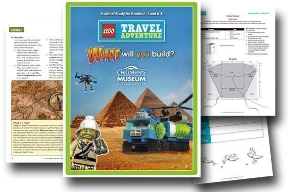 LEGO Travel Adventures Unit Study {Free}