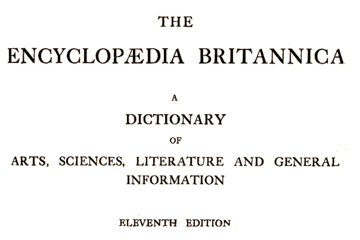 Scholarly Encyclopedia {Free Online}