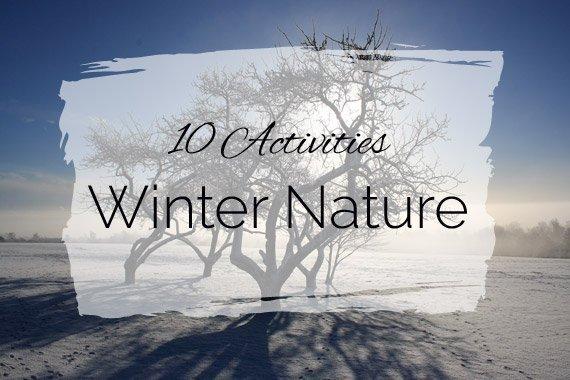 10 Activities: Winter Nature Study