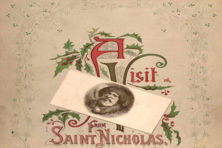 """""""A Visit from St. Nicholas"""" by Clement C. Moore"""
