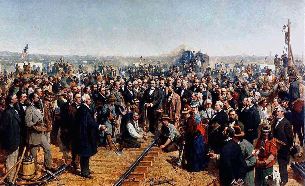 Transcontinental Railroad 150th Anniversary Teaching Resources