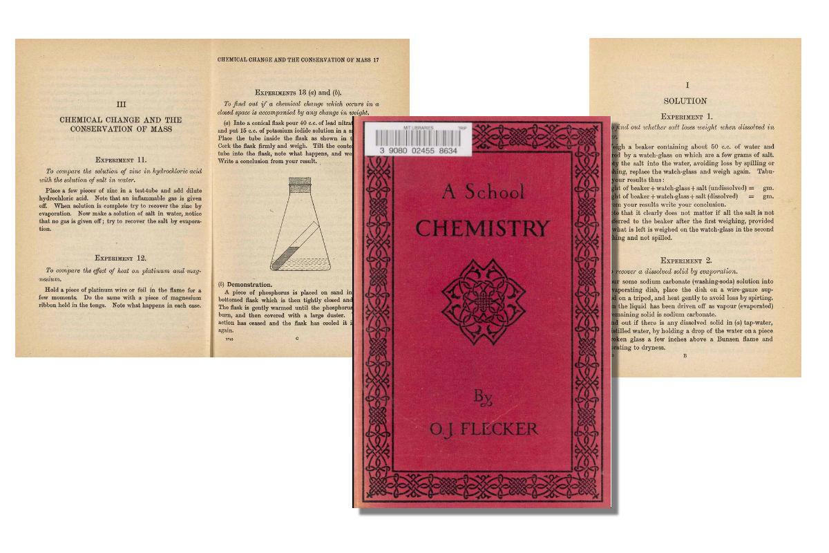 A School Chemistry {Free eBook}