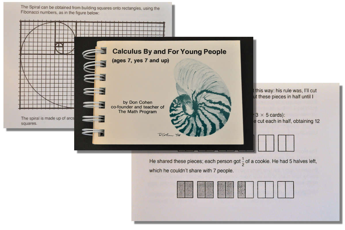 Calculus By and For Young People ~ Free eBook