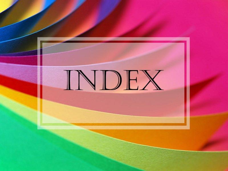 Find It ~ Index